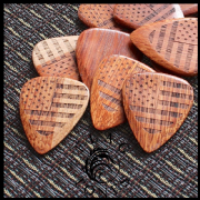 Flag Tones - Stars & Stripes Saffron - 4 Picks | Timber Tones